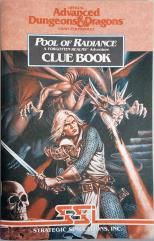 Pool of Radiance - Clue Book