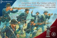 Union Infantry in Sack Coats, Skirmishing