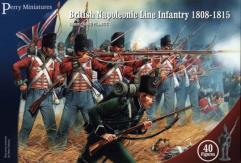 British Napoleonic Line Infantry 1808-1815