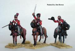 British Mounted Infantry Colonels