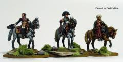 French Mounted Staff & Napoleon