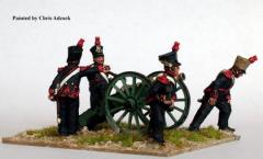 French Foot Artillery Firing