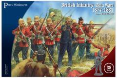 British Infantry (Zulu War) 1877-1881