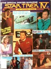 Star Trek IV - The Voyage Home - Official Poster Magazine