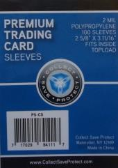 Premium Trading Card Sleeves (10 Packs of 100)