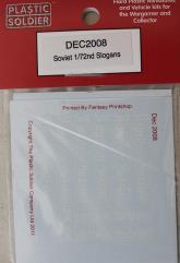 Decals - Soviet Slogans