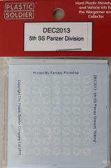 Decals - 5th SS Panzer Division
