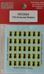 Decals - 11th Armored Division