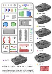 Panzer III J,L,M,N Tank