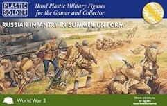 Infantry in Summer Uniform