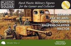 Pak 40 Anti-Tank Gun and Raupenschlepper Tractor