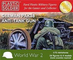 Pak38 Anti-Tank Gun