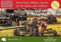 British 6PDR Anti-Tank Gun and Loyd Carrier Tow