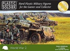 Halftrack SdKfz 251/C