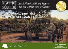 M4A1 76mm Wet Stowage Sherman Tank