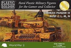 Panzer III Ausf J, L, M, N and Flamm