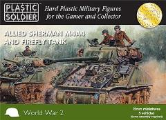 Allied Sherman M4A4 & Firefly Tank