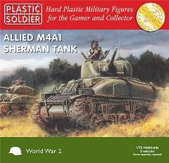Allied M4A1 Sherman Tank