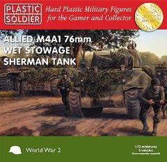 Allied M4A1 76mm Wet Stowage Sherman Tank