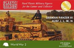 Panzer III Ausf. J, L, M, N