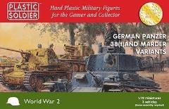 Panzer 38T & Marder Variants