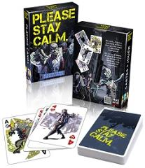 Please Stay Calm Playing Cards