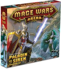 Mage Wars Arena - Paladin vs. Siren Expansion