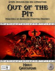 Out of the Pit - Monsters of Advanced Fighting Fantasy w/PDF (2nd Edition)