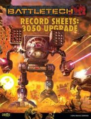 Record Sheets - 3050 Upgrade