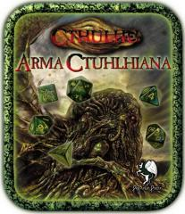 Arma Ctuhlhiana - Cthulhu Dice Set w/Tin (Limited Edition)