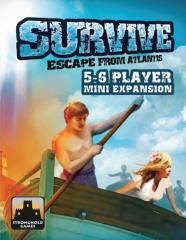 Survive - Escape from Atlantis, 5-6 Player Mini Expansion (1st Edition)