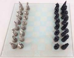 Vampires vs. Werewolves Chess Set