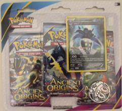 XY - Ancient Origins 3-Booster Blister Pack, Malamar w/Froakie Coin