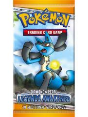 Diamond & Pearl - Legends Awakened Booster Pack