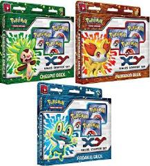 XY - Kalos Starter Set, Display Box (6 Decks)