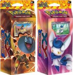 XY - Flashfire Theme Deck, Display Box (8 Decks)