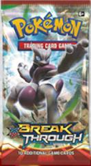 XY Breakthrough Booster Box (36 Sleeved Packs)