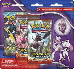 3-Pack Pin Booster - Mega Mewtwo Y