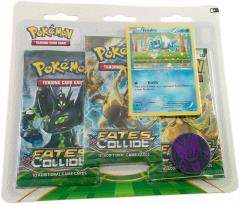 XY Fates Collide 3-Booster Pack