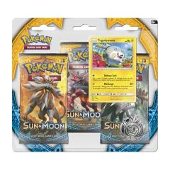 Sun & Moon 3-Booster Blister Pack - Togedemaru w/Pikachu Coin