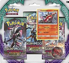 Sun & Moon Guardians Rising 3-Booster Blister Box - Turtonator