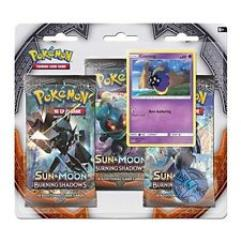 Sun & Moon Burning Shadows 3-Booster Pack