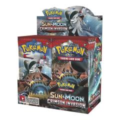 Sun & Moon Crimson Invasion Booster Box