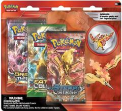 3-Pack Pin Blister - Moltres