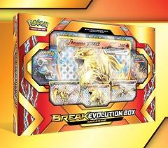 BREAK - Evolution Box, Arcanine, Mandibuzz, Crobat