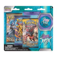 3-Pack Pin Booster - Suicune