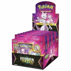 3-Pack Pin Booster - Display Box Mewtwo & Mew