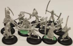Blighted Nyss Swordsmen & Command Collection #1