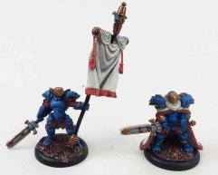 Stormblade Infantry Officer & Standard #3