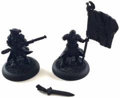 Long Gunner Officer & Standard Bearer #4